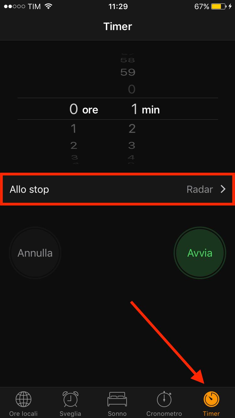 timer iOS