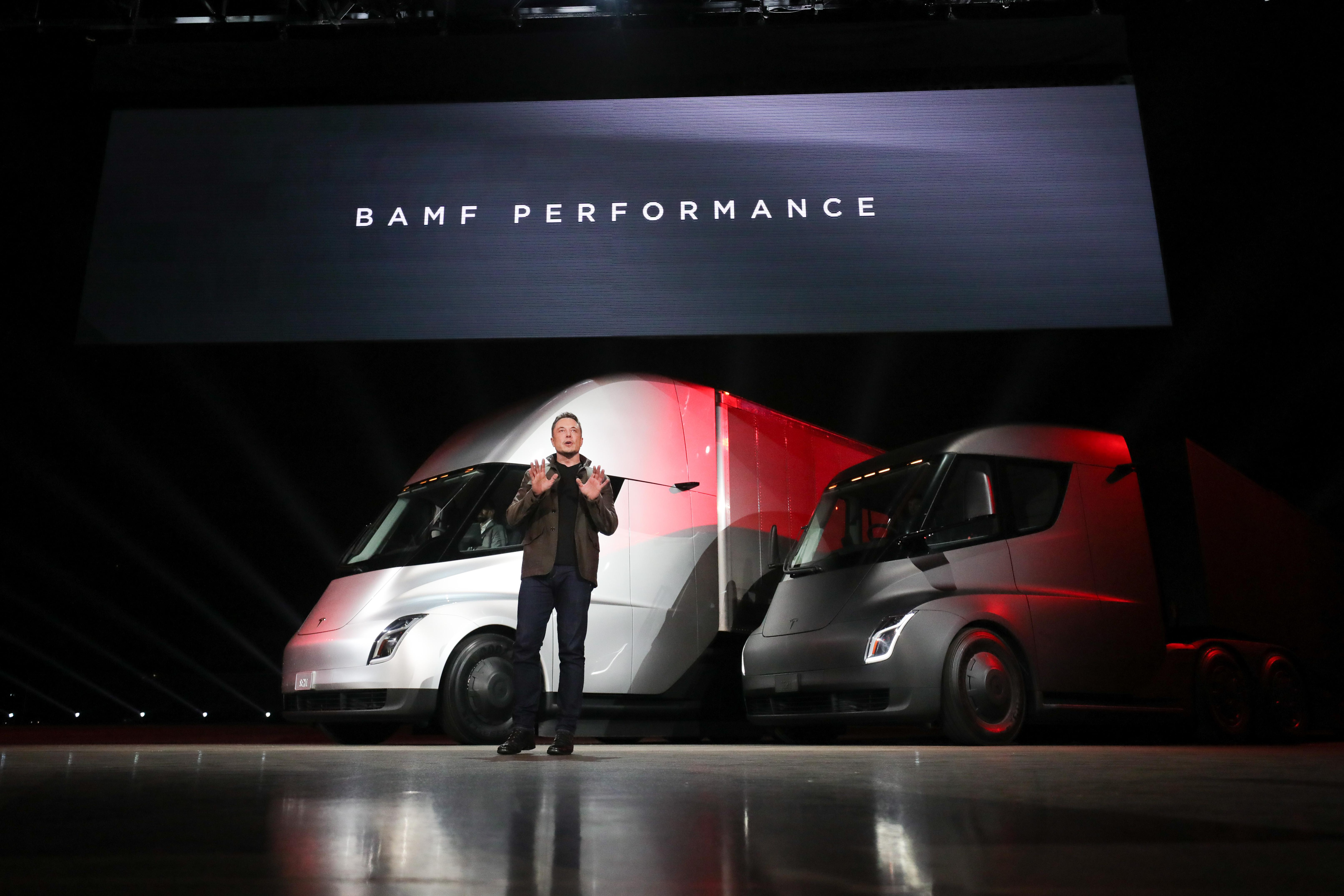 Tesla Semi BAMF Performance