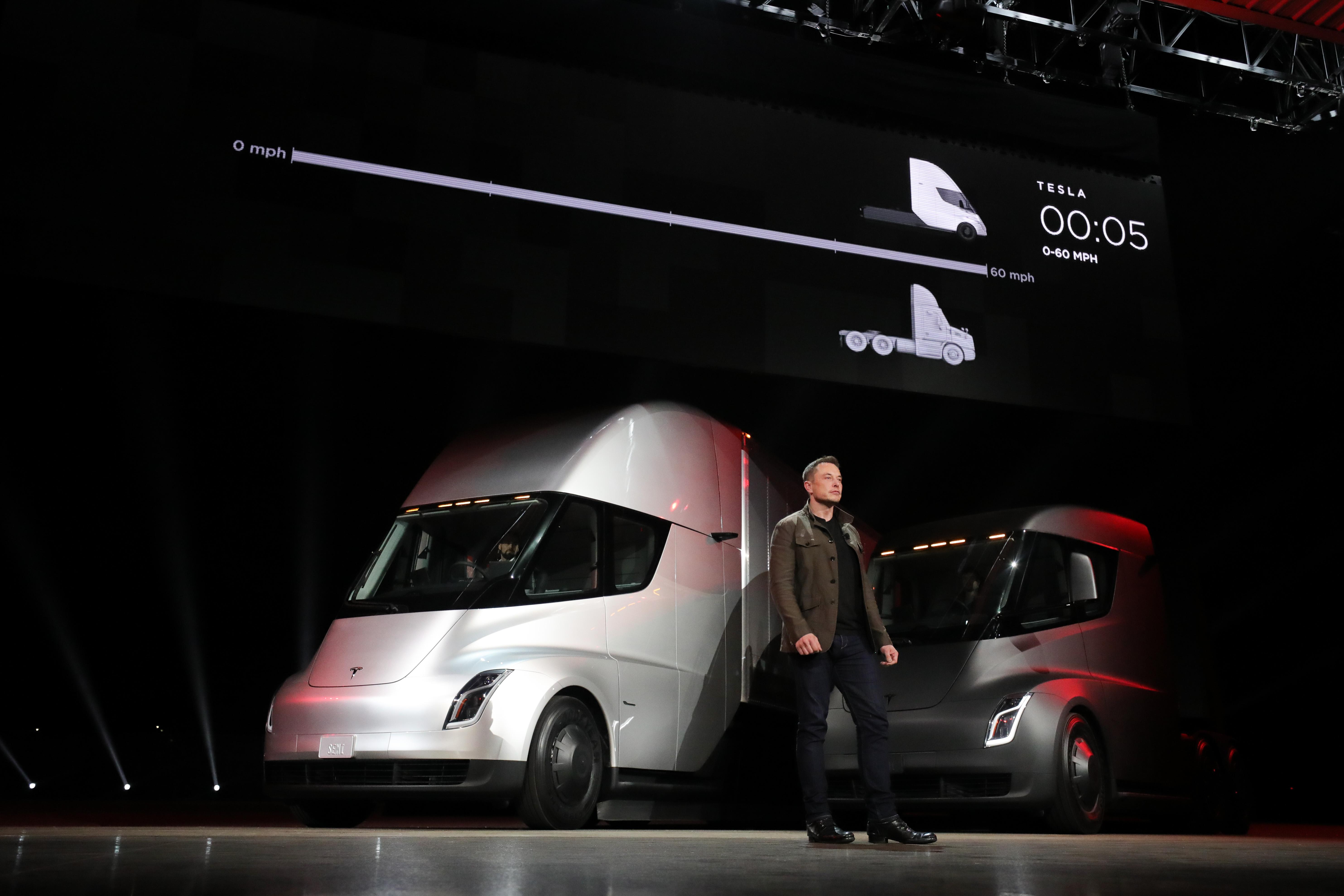 Tesla Semi presentazione