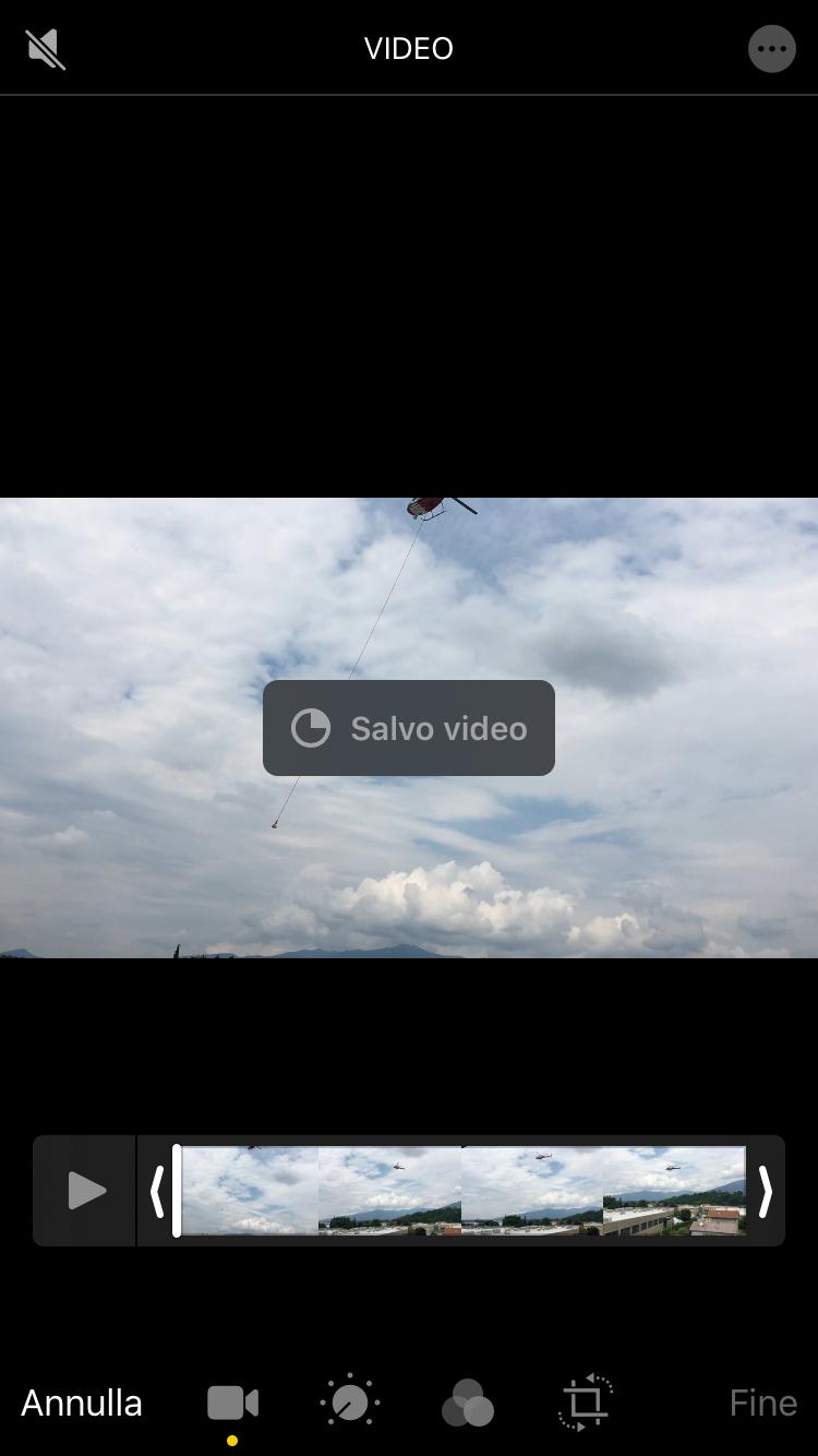 salvataggio video