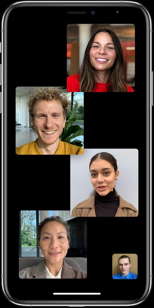 FaceTime group iOS