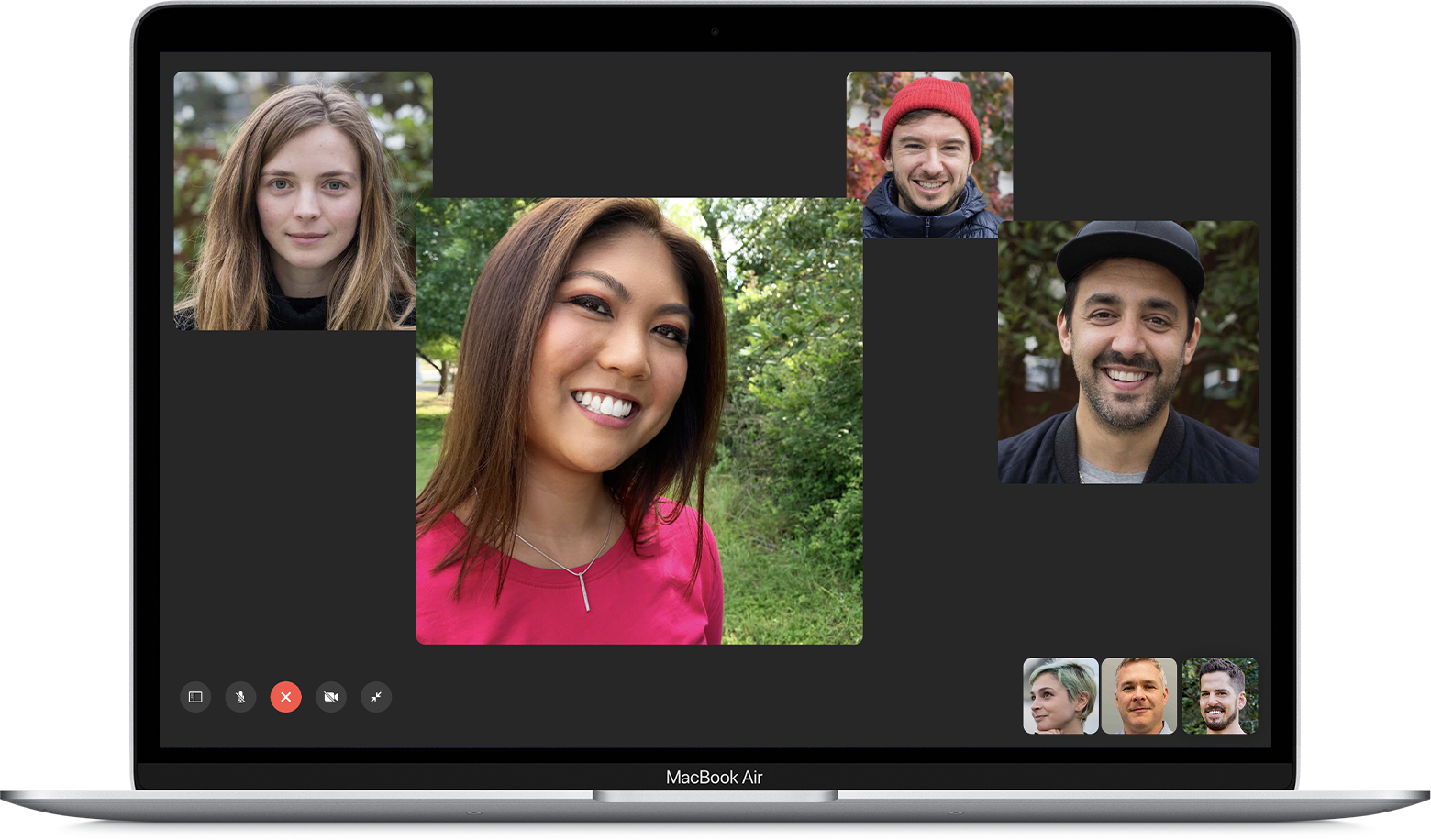 FaceTime group Mac